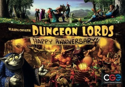 Czech Games Dungeon Lords Happy Anniversary Board Game