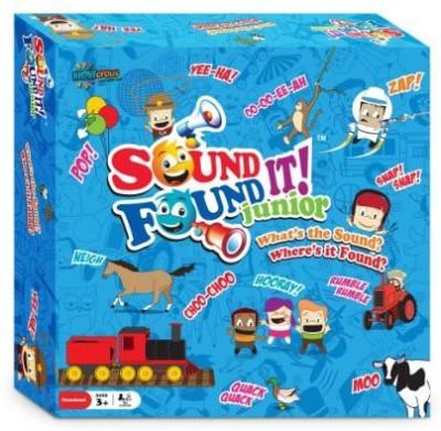 Wowopolis Sound It Found It Junior Board Game