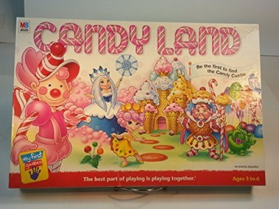 Milton Bradley Candyland Be The First To Find The Candy Castle (2001) Board Game
