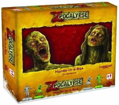 GreenBrier Games Zpocalypse Horde In A Box Board Game