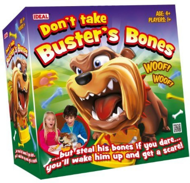 Ideal Don'T Take Buster'S Bones Board Game