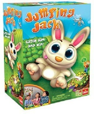 Goliath Games Jumping Jack Pull Out A Carrot And Watch Jack Jump Board Game