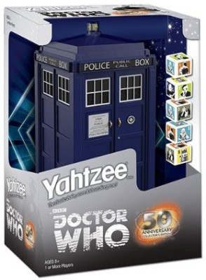 Yahtzee Doctor Who Collector,S Edition Board Game