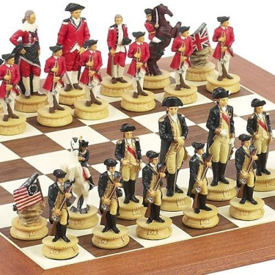 Bello Games New York, Inc. American War Of Independence & Stuyvesant St Chess Board Game
