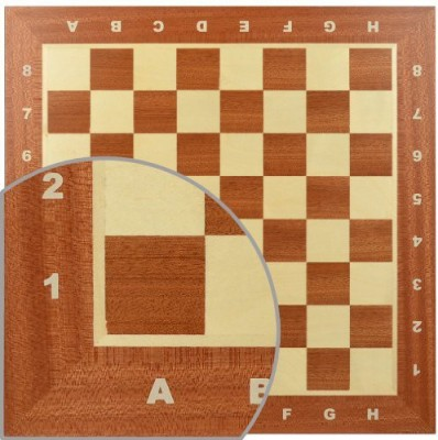 Wegiel Professional Tournament Chess No 4 Board Game