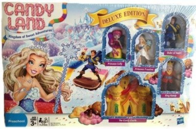 Candyland Deluxe Princess Edition Board Game