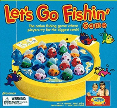 Pressman Toy Lets Go Fishin Board Game