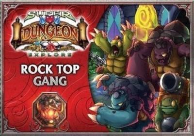 Soda Pop Miniatures. Super Dungeon Explore Rock Top Gang Board Game