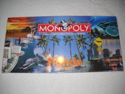 Parker Brothers Florida Monopoly Board Game