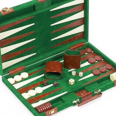 Bello Games New York, Inc. Lexington Avenue Designer Backgammon Set 15