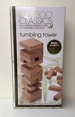 Bamboo Tumbling Tower Board Game