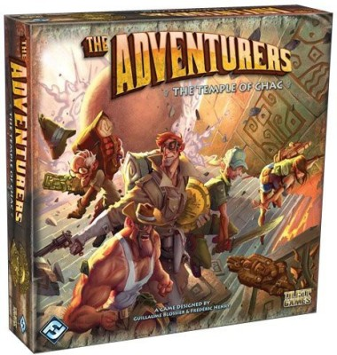 Fantasy Flight Games The Adventurers The Temple Of Chac Board Game