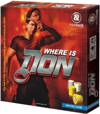 Think Tank Games Where is Don Board Game