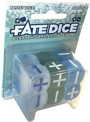 Evil Hat Productions Fate Dice Frost Dice Board Game