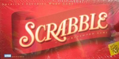 Hasbro Scrabble Crossword America,S Favorite Word (2001 Edition) Board Game
