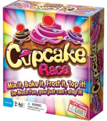 Endless Games The Cupcake Race Preschool Board Game