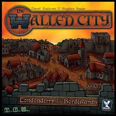 Mercury Games Walled City Board Game