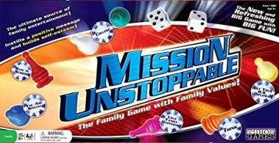 Tuhos Mission Unstoppable Board Game