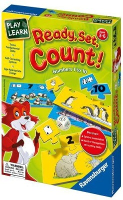 Ravensburger Readysetcount Numbers 1 To 10 Board Game