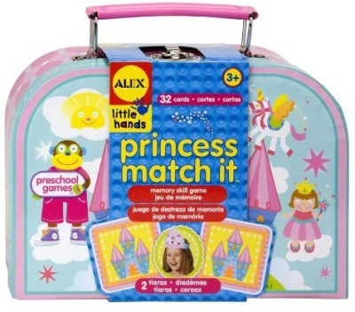 ALEX Toys Little Hands Princess Matching Board Game