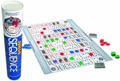Jax Jumbo Sequence Tube Board Game