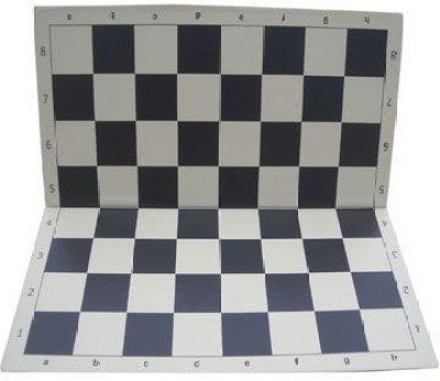 ChessCentral Doublefolding Chess Black And Buff Board Game