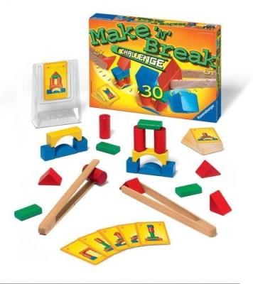 Ravensburger Make ,N, Break Challenge Family Board Game