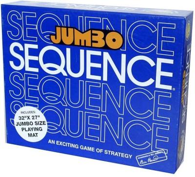 Jax Jumbo Sequence Box Board Game