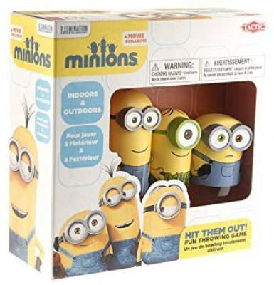 Tactic Games US Minions Hit Them Out Board Game