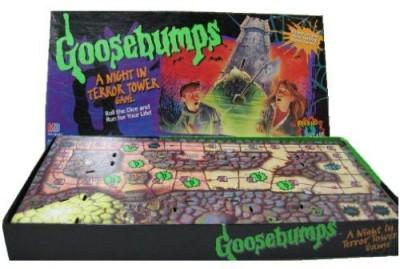 Milton Bradley Goosebumps A Night In Terror Tower Board Game