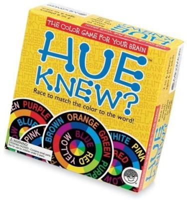 MindWare Hue Knew? Board Game