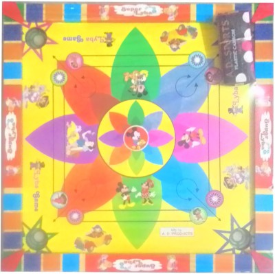 SportsHouse 20 inch kids fancy carrom Board Game available at Flipkart for Rs.549