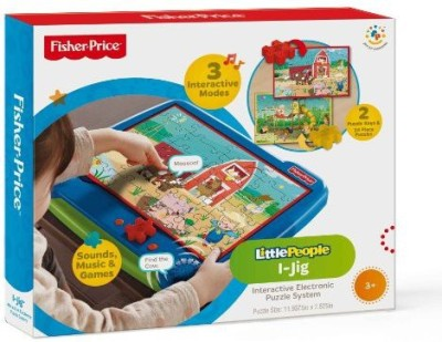 TCG Fisherprice Ijig Interactive Electronic Puzzle System Board Game