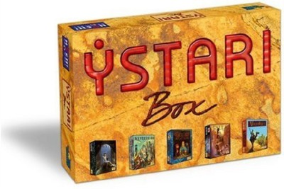 Rio Grande Games Ystari Treasure Board Game