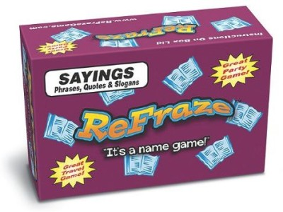 TaliCor Refraze Sayings Edition Board Game
