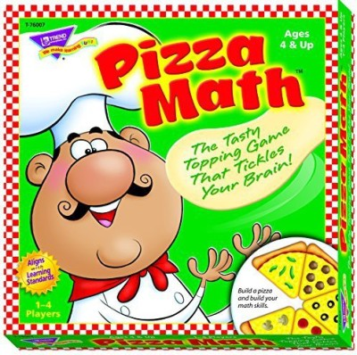 Trend Enterprises Inc Pizza Math Learning Board Game