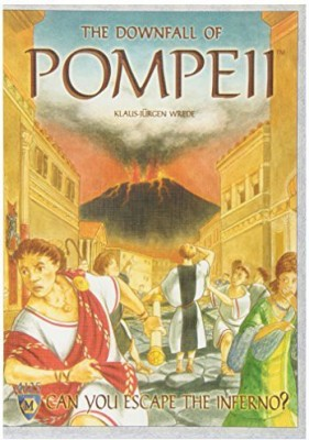 Mayfair Games The Downfall Of Pompeii Board Game