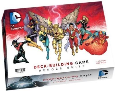 Cryptozoic Entertainment Dc Comics Deckbuilding Heroes Unite Board Game