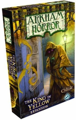 Fantasy Flight Games Arkham Horror The King In Yellow Expansion Board Game