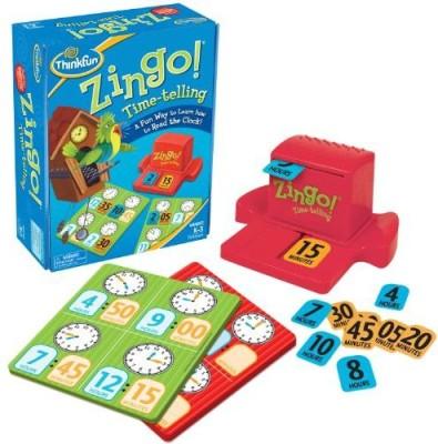Think Fun Zingo Timetelling Board Game