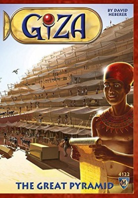 Mayfair Games Giza The Great Pyramid Board Game