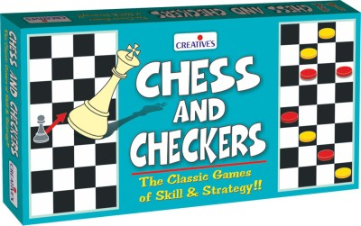 Creative's Chess and Checkers Board Game