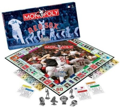 Monopoly Original Red Sox World Series 2004 Championship Board Game
