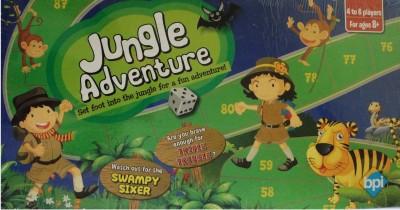 BPI SMALL JUNGLE ADVENTURE-4107--- Board Game