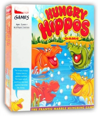 Funskool Hungry Hippos Game Board Game