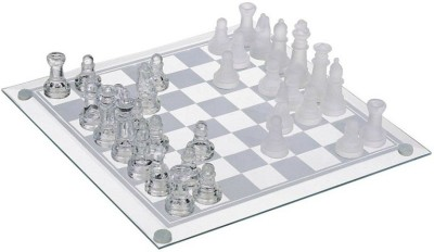 Cool Trends Glass Chess Set Board Game