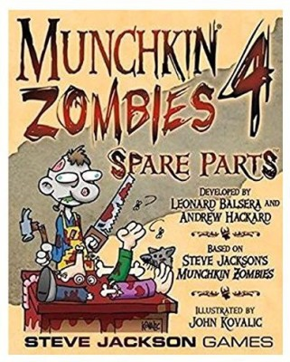 Steve Jackson Games Munchkin Zombies 4 Spare Parts Board Game
