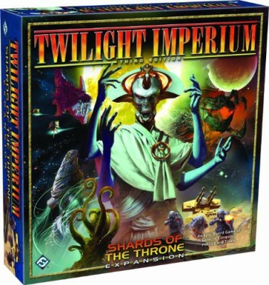 Fantasy Flight Games Twilight Imperium Shards Of The Throne Expansion Board Game
