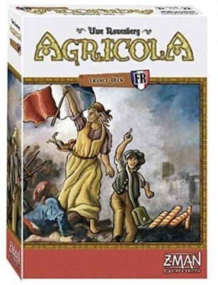 Z-Man Games 1 X Agricola France Deck Expansion Pack Zmg70266 Board Game