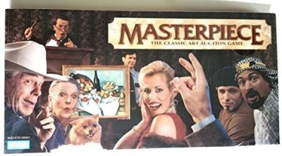 Parker Brothers Masterpiece The Classic Art Auction 1996 Edition Board Game